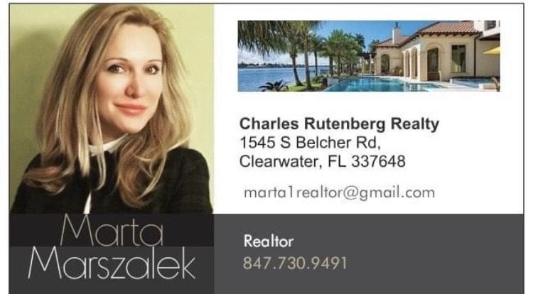 Marta Marszalek, Polish, Realtor, Clearwater, Pinellas, Florida