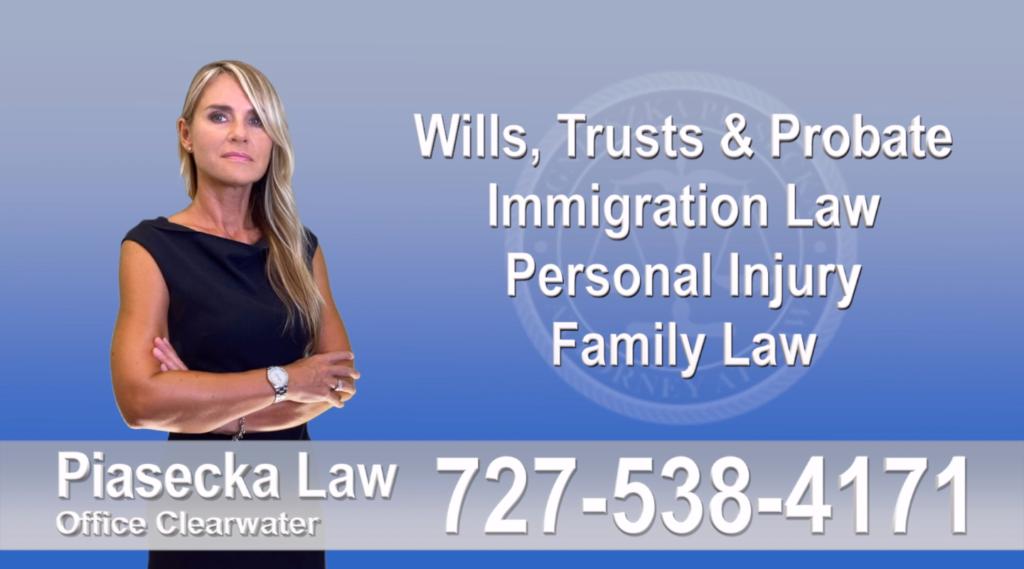 Florida, Polish, Attorney, Lawyer, Polski, Prawnik, Adwokat, Floryda, USA, Agnieszka Piasecka, Aga Piasecka, Piasecka, Clearwater