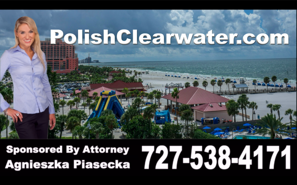 Polish, Clearwater, Attorney, Lawyer, Florida, USA, Polski, Prawnik, Adwokat, Floryda, Agnieszka Piasecka, Aga Piasecka, Piasecka